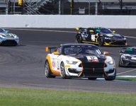 Staveley closes out GT4 Sprint season with sweep at Indy