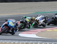 MotoAmerica support classes: Landers, Kelly win season finales at Laguna Seca