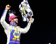 Elliott wins his way into Championship 4; Harvick out