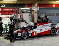 Hartley takes turn at the front in third Bahrain practice