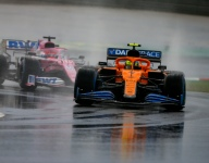McLaren pair penalized; Norris drops five places, Sainz three