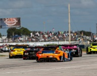 GTD leaders crash adds to drama of opening hours at Sebring