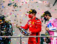 Vettel revels in thrilling finish for first podium of 2020
