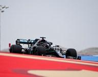 Hamilton leads opening Bahrain GP practice