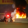Grosjean escapes massive accident on opening lap in Bahrain