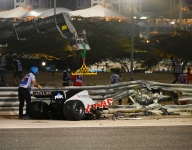 Grosjean hospitalized overnight but escapes serious injury