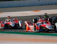 Lynn, Mahindra team lead second day of Formula E testing