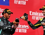 'Shoey' surprises Ricciardo almost as much as podium