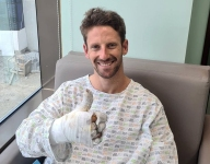 Grosjean expected to be discharged on Tuesday