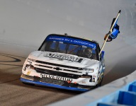 Creed wins Phoenix thriller to claim NASCAR Truck title
