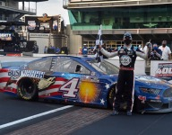 Harvick named Driver of the Year by NMPA