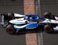 Sato's 2020 Indy-winning chassis retired