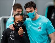 Hamilton sees bright future for Mercedes as contract waits