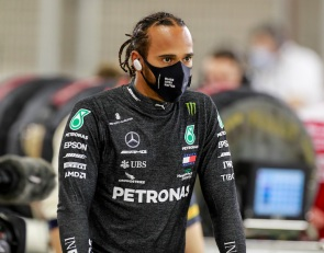 Hamilton sidelined after positive COVID-19 test