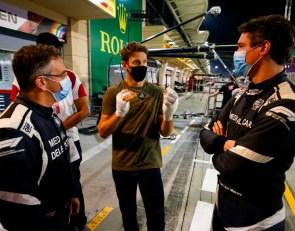 Grosjean rethinking IndyCar future after crash