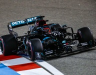 Russell completes Friday sweep at Sakhir after Bottas loses fast lap