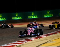 Perez storms from last to first F1 win at Sakhir GP