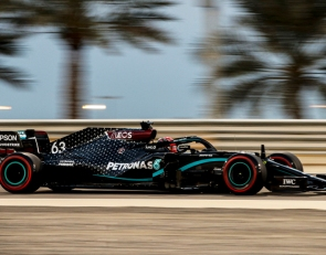 Russell storms to P1 on Mercedes debut at Sakhir GP