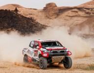 De Villiers wins Dakar stage as Sainz lashes out
