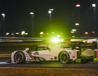 Ganassi Cadillac sets the pace in Rolex 24 night practice