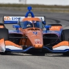 Dixon sets the pace at Sebring IndyCar test
