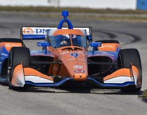 Dixon sets the pace at Sebring IndyCar test