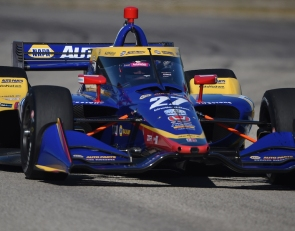 Rossi tops second day of Sebring IndyCar testing