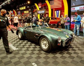 Carroll Shelby's 427 Cobra sells big in Kissimmee
