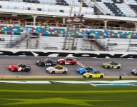 Blockbuster finish to first Mazda MX-5 Cup race at Daytona