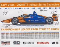Limited edition prints celebrating Dixon's sixth title will benefit charity