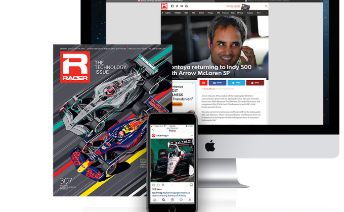 RACER's influence fueled by reader, advertiser passion
