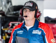 Letarte returns as fill-in for COVID-sidelined Spire team crew chief