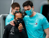 Wolff explains Hamilton's contract length, dismisses veto