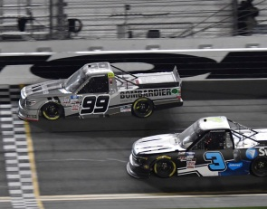 Rhodes charges to Daytona Truck win in overtime