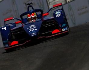 Robin Frijns takes Formula E Race 2 pole