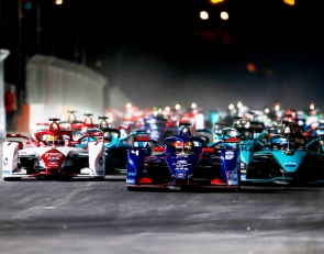Jaguar's Sam Bird wins crash-shortened Formula E Race 2 at Diriyah