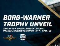 Borg-Warner Trophy unveiling live stream