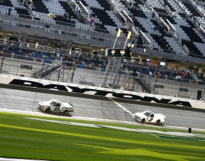 Rhodes wins second straight Daytona Truck Series race