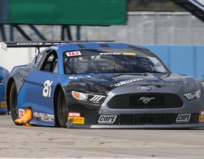 Last-lap thriller at Sebring as Merrill wins Trans Am TA2 opener