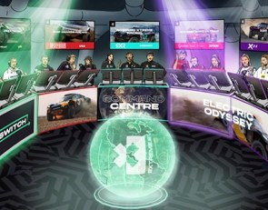 Extreme E unveils 'Command Center' TV studio