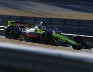 Ed Jones plugs back in quickly on IndyCar return