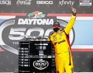 McDowell escapes final lap carnage to win Daytona 500