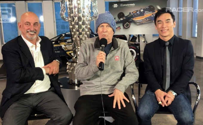 RACER video: Takuma Sato's second Borg Warner unveiling