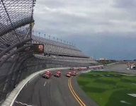 Final Daytona practice rained out; 9 drivers to start at the back
