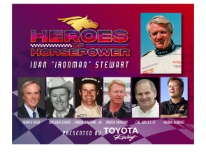 Toyota, Motorsports Hall of Fame of America to celebrate Ivan Stewart in Facebook Live event
