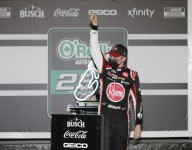 Bell overcomes Logano for first Cup win in wild Daytona road race