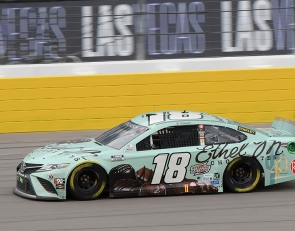 "Kyle Busch's third-place finish at Vegas a ""good building process"""