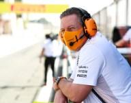 McLaren's Brown predicts Verstappen-Russell at Mercedes in 2022