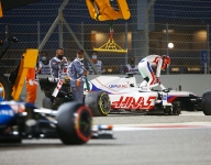 Mazepin rues early exit in Bahrain