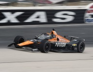 O'Ward quickest on busy second day of Texas IndyCar testing